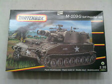 MATCHBOX 40711 m-109g self-propelled-GUN 1:35 NUOVO E NON IMBUSTATO