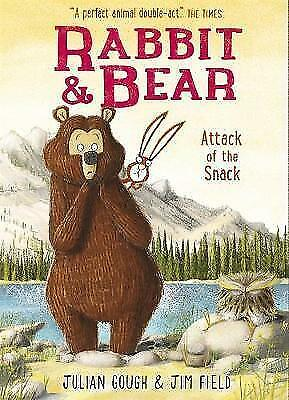 Attack of the Snack: Book 3 (Rabbit and Bear) by Gough, Julian, NEW Book, FREE &