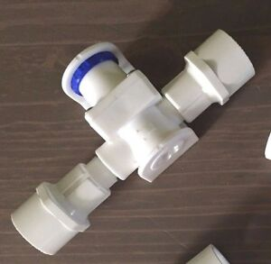 Low Pressure Reducing PVC Water Regulator For Chicken Drinkers - Nipples + Cups