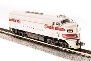 BROADWAY LIMITED 3488 N Scale EMD F3A CB&Q 116-D Freight Paragon3 Sound DC DCC