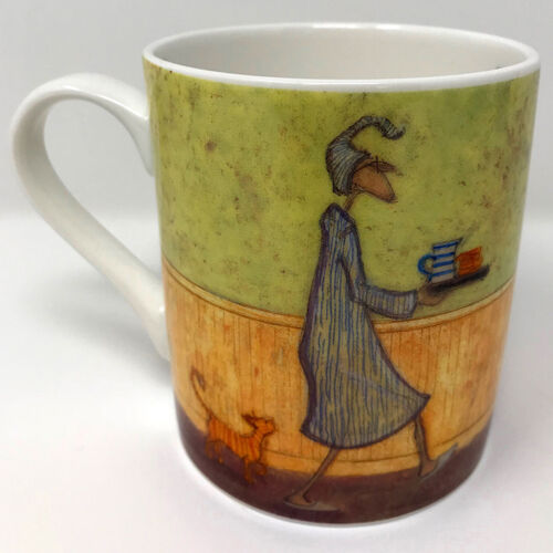 Sam Toft Bone China Coffee Mug MGBC23804C Breakfast in Bed for Doris