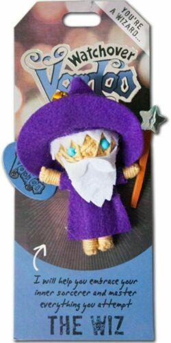 """Watchover Voodoo Doll The Wiz   3/"""" New Lucky Charm"""