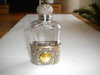 Flachmann 925 Silber England London 1897/98 hip Flask Silver Taschenflasche
