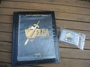 "N64 THE LEGEND OF ZELDA ""OCARINA OF TIME"" SPIEL  + SPIELEBERATER getestet"