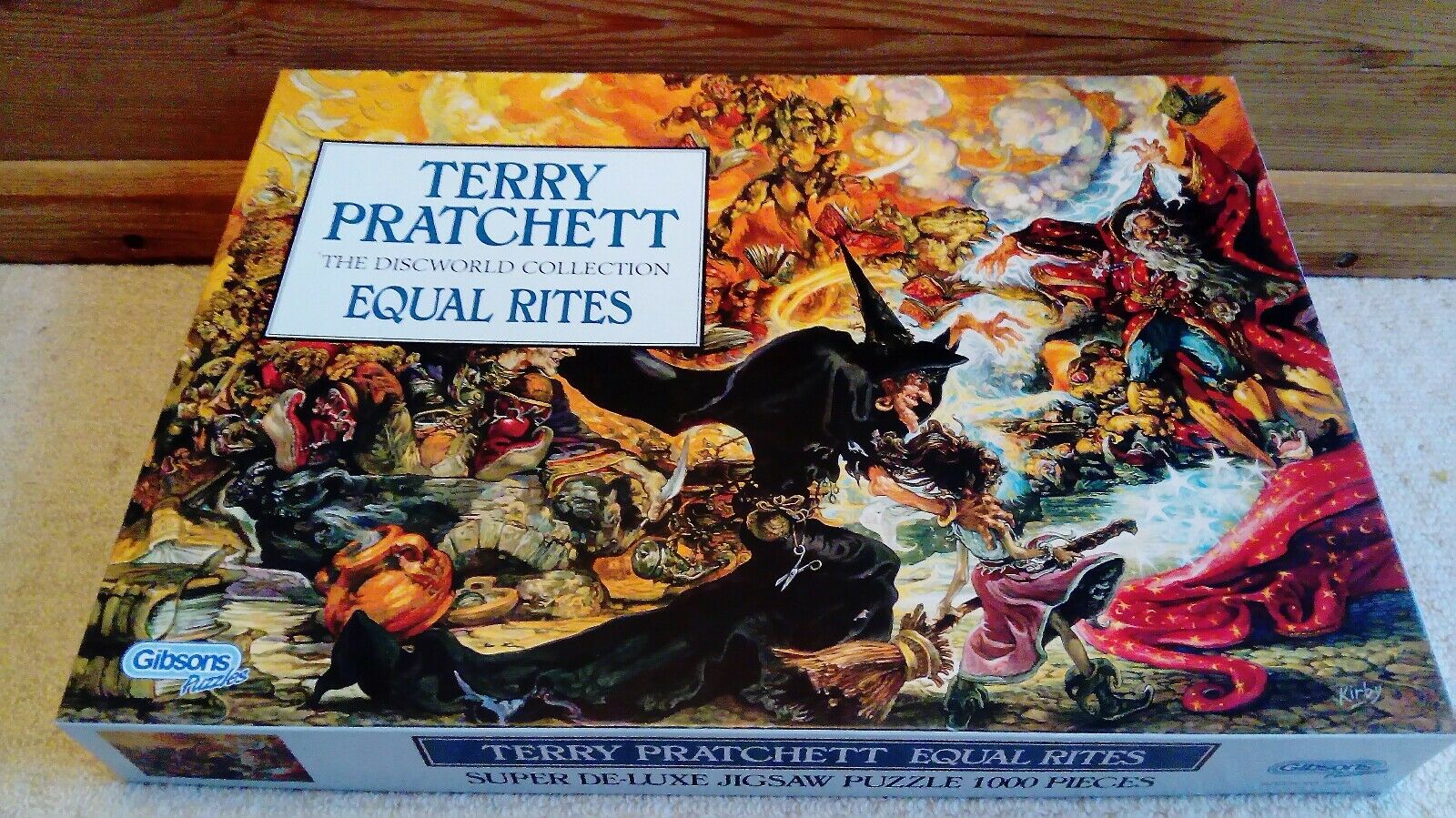 Terry Pratchett Equal Rites 1000 Piece Super Deluxe Gibsons Jigsaw Puzzle