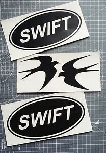 2-x-Swift-Vinyl-Decals-Stickers-for-Awning-Motorhome-Caravan-25-Colours