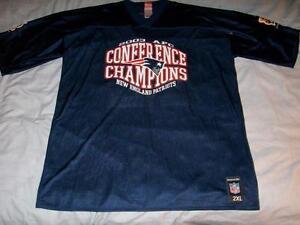 Detalles acerca de Tom Brady 12 New England Patriots 2003 Conferencia Champs Jersey Nfl Adulto 2xl- mostrar título original