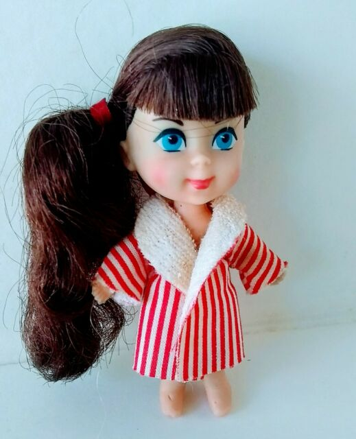 Vintage Original Liddle Kiddle Soapy Siddle Doll with Robe 1960s