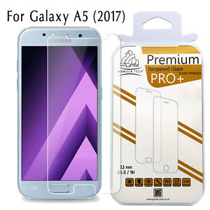 Lot-de-Deux-Galaxy-A5-2017-Veritable-Gorilla-Tech-Ecran-Protecteur-Verre-Trempe