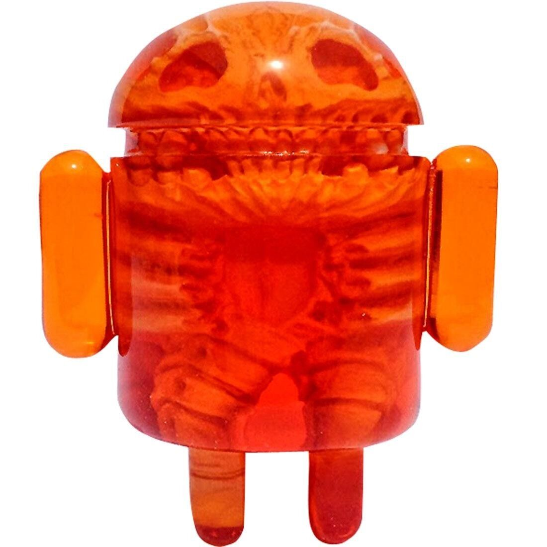 Infected Android by Scott Wilkowski x Android Foundry Orange SDCC