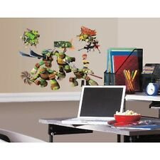 Item 4 New TEENAGE MUTANT NINJA TURTLES WALL DECALS Kids Bedroom Stickers Room Decor