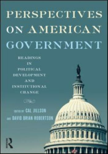 American Government: Perspectives on American Government: Readings in Political