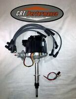 Chevy Inline 6 / Straight 6 194-230-250-292 Hei Distributor Black + Plug Wires
