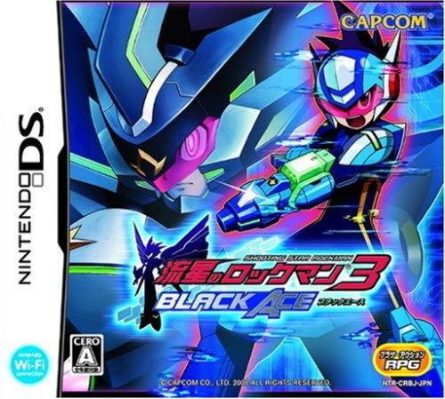 Used DS Capcom Ryuusei no RockMan 3: Black Ace NINTENDO JAPANESE IMPORT