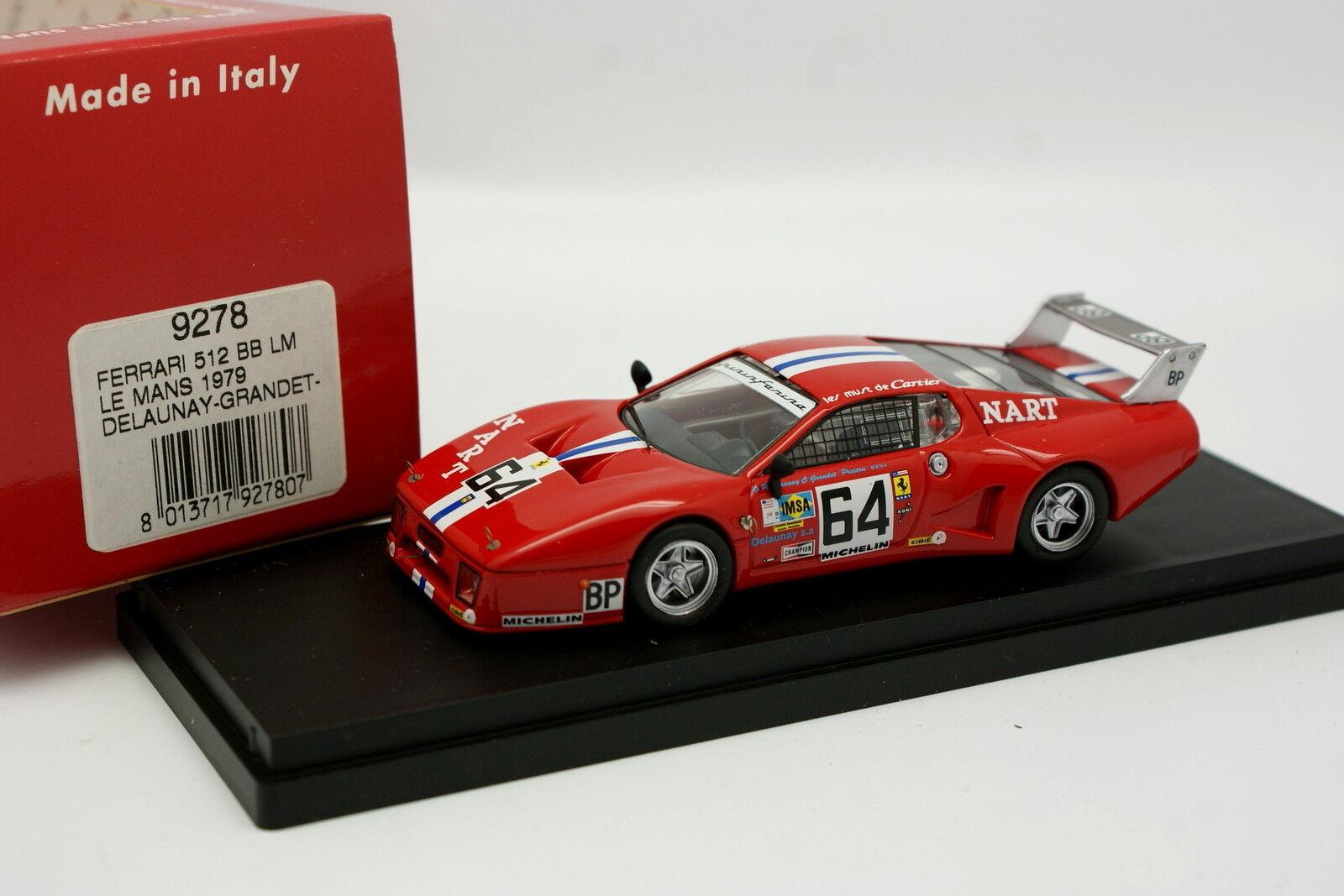 Best 1 43 - Ferrari 512 512 512 BB LM Le Mans 1979 N°64 0119b0