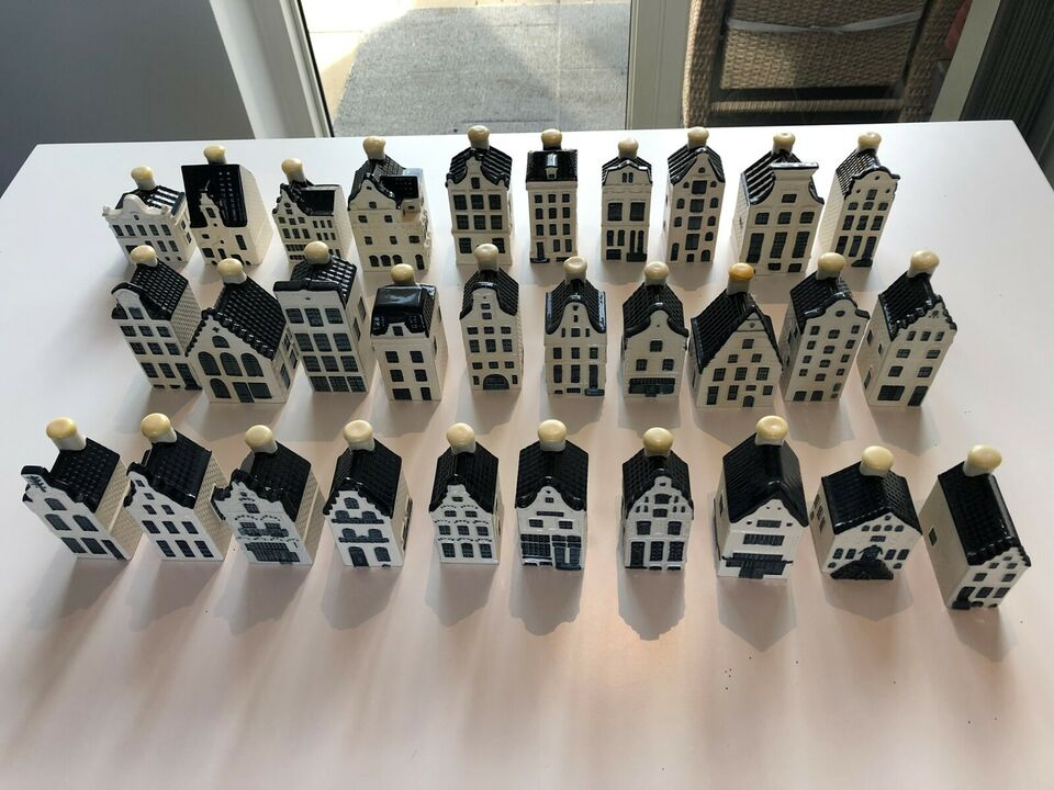 Porcelæn, KLM miniature Hollandske huse
