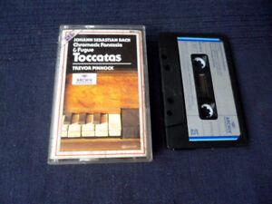 MC KASSETTE Trevor Pinnock BACH Chromatic Fantasia & Toccatas Cembalo DG ARCHIV