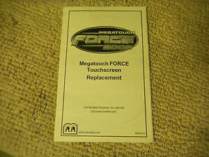 MERTI-force-2002-touchscreen-replacement-megatouch-original-video-game-manual