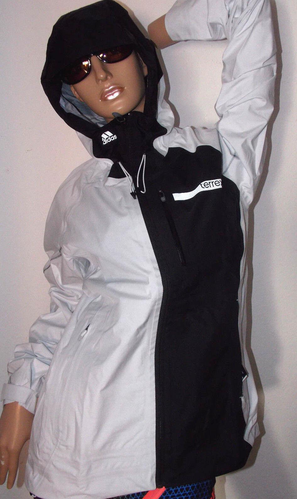 Adidas Terrex Gore-Tex mujeres Wanderjacke  w TX GTX acts 3  talla 38 blancoo negro