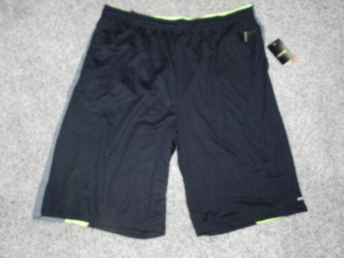RPX Athletic Shorts Big /& Tall 4X Dri-Tech Basketball Mens Black Grey Lime NWT