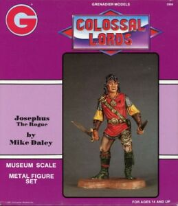 Grenadiers-Colossal-Lords-120mm-Josephus-The-Rogue-Metal-Figure-Kit-3309
