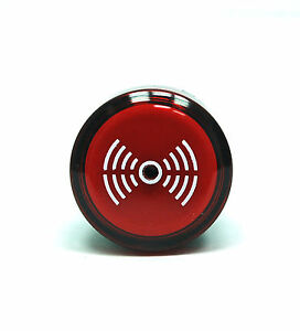 1pc φ22mm Buzzer Pilot Lamp TS2BIL AC//DC 24V Red Intermittent Audible Alarm Tend