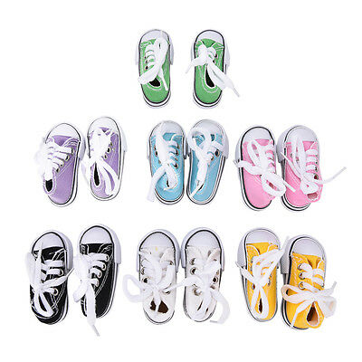 Canvas Shoes 7.5cm BJD Doll Toy Mini Doll Shoes for 16 Inch Sharon doll Boots*US