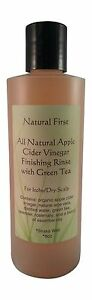 Natural First Apple Cider Vinegar Finishing Rinse W Green