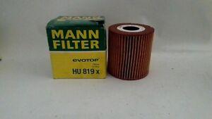 Engine Oil Filter MANN HU 819 x