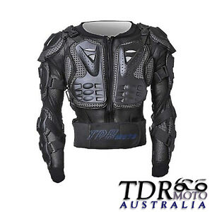 Motocross-Dirt-Bike-Body-Armour-Jacket-Chest-Shoulder-Quad-Motorcycle-Protection