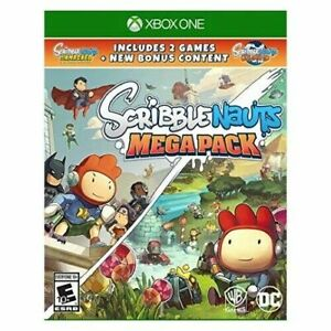 Scribblenauts-Mega-Pack-Xbox-One-Video-Game-Brand-New-Factory-Sealed