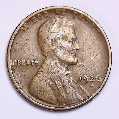 FREE SHIPPING! 1926-D Lincoln Wheat Cent Penny LOWEST PRICES ON THE BAY