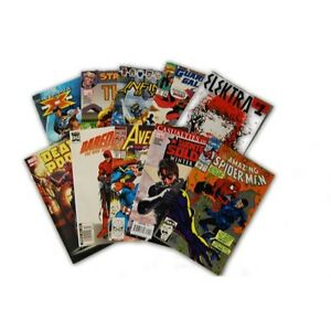 10-Comic-Book-bundle-lot-with-10-Random-Marvel-Superhero-Collection-with-Spider
