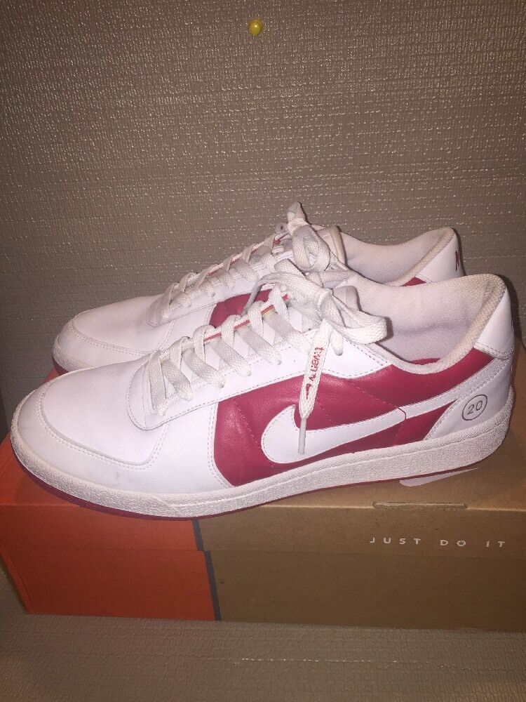 Nike Air Jordan Air Force-1 20 Low Varsity Red And White Mens 10