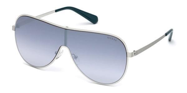 Brillen Sonnen- GUESS 5200 s 08X Silber Linse Blau Farbverlauf | Online Outlet Store