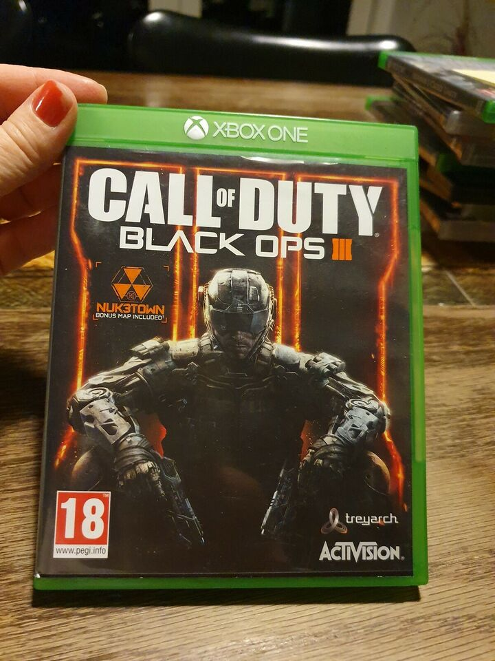 Call of Duty Black Ops III, Xbox One, action