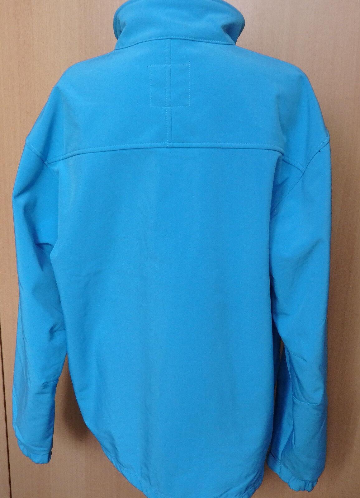 Ocean señores Softshell chaqueta, azul, talla talla talla XXL 384b4b