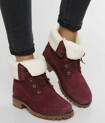 Timberland Teddy Boot Women's Shoes in Light Brown Nubuck