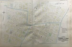 Haverhill Ma Zip Code Map.Orig 1881 G M Hopkins Haverhill Ma White Street Public School Plat