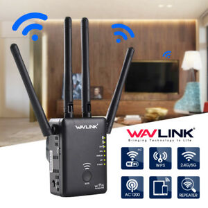 Details about Wavlink AC1200 Dual Band Wifi Repeater Router Wireless  Extender Signal EU Plug