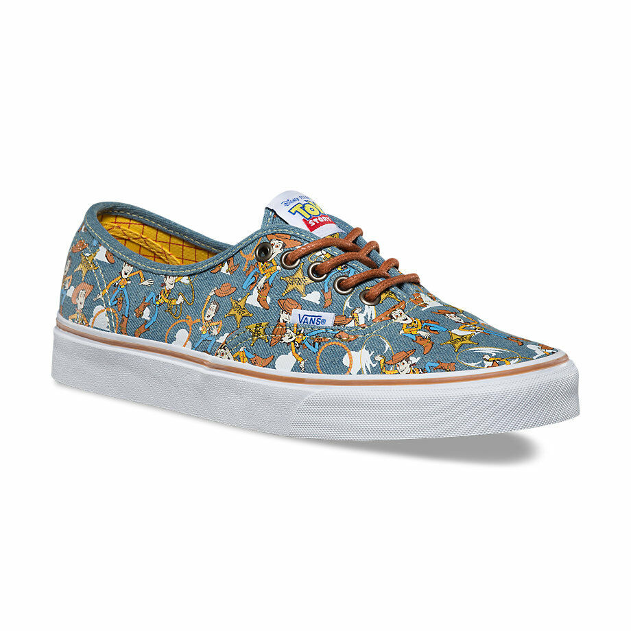 VANS X Disney Pixar Toy Story Sheriff Woody Authentic Sneakers Unisex Men Women