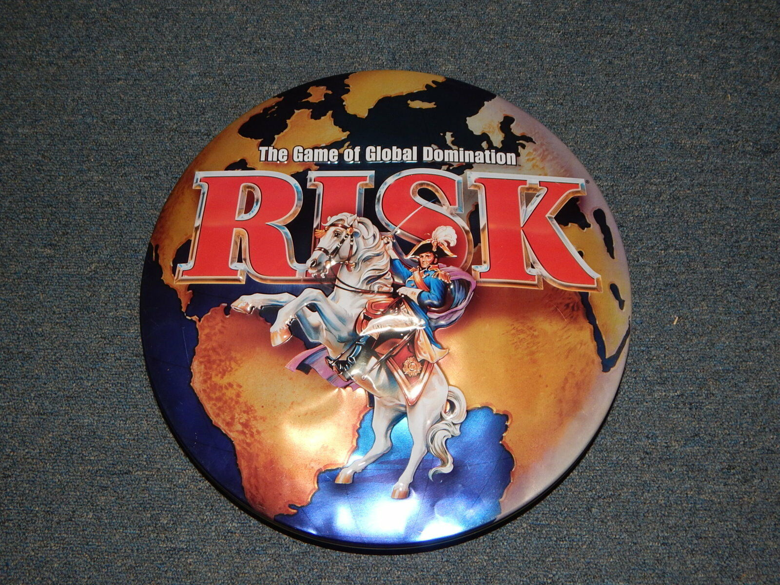 RISK Board Game 2003 in Collector Tin (Complete ) R18074
