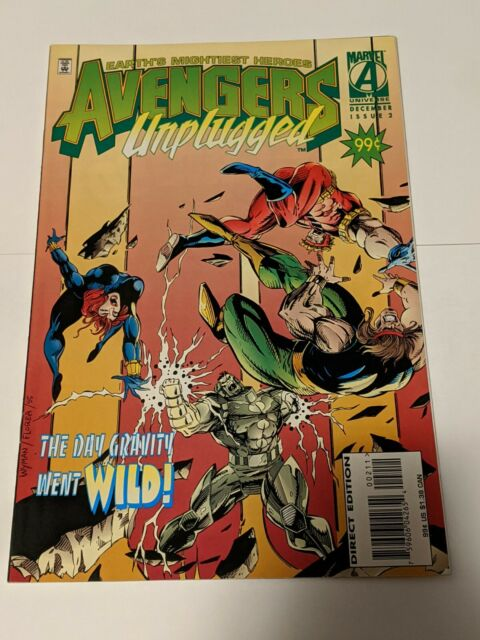 Avengers Unplugged #2 November 1995 Marvel Comics