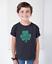 Youth Toddler Lucky #2 Green Clover T Shirt Irish Shamrock St Patrick/'s Day Kids