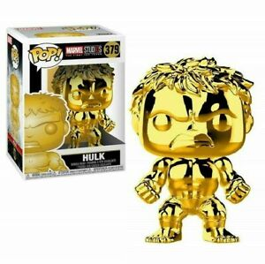 Funko-Pop-Marvel-Avengers-Hulk-Marvel-Studios-10-Chrome-Gold-379