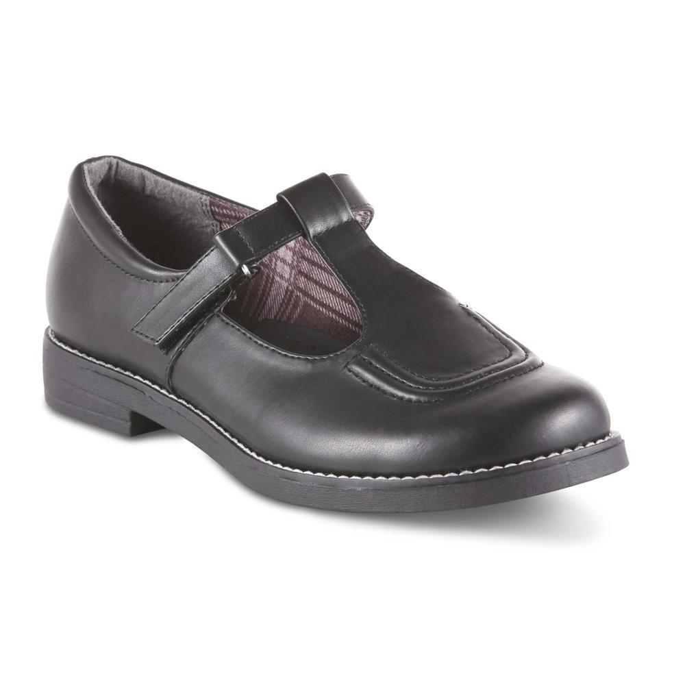 BONGO Women's Tina Black Mary Jane T-Strap Flat shoes Size 5.5-10 Medium Width