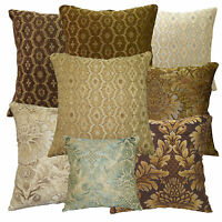 we+8 Colors Damask Flower Thick Cotton Cushion Cover/Pillow Case*Custom Size