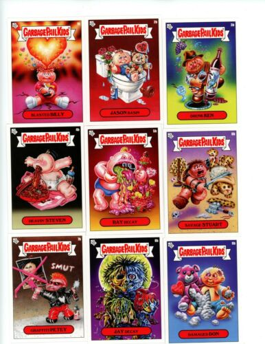 2019 GPK VALENTINE/'S DAY IS GROSS Complete A /& B Set 20 Cards Garbage Pail Kids