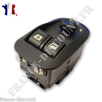 Commande Leve Vitre 306 Bouton de L/ève vitre avec commutateur de r/étroviseur 206 306 Interrupteur L/ève-Vitre Avant Gauche C/ôt/é Conducteur R/étroviseur 6554.WA 6554WA