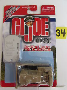 MAISTO-2001-G-I-JOE-DIE-CAST-BULLDOZER-W-DOG-TAG